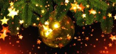 Christmas, Star, Ball