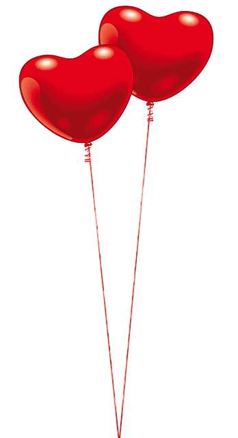 Balloon Heart Red Free Image On Pixabay