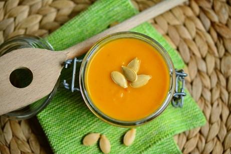 Crema Di Zucca, Brodo, Arancione, Zucca, Mangiare