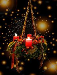 Advent, Christmas Time, Advent Wreath