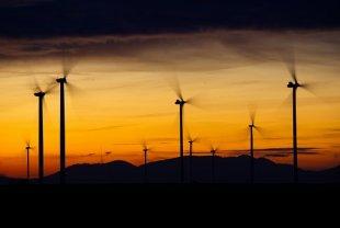 Windräder, Wind Power, Energy, Blue