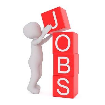 Jobs, Work, Offer, 3Dman, 3D, 3D Model