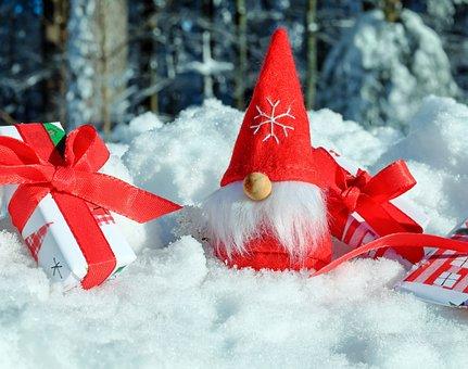 Santa Claus, Motif De Noël, Figure