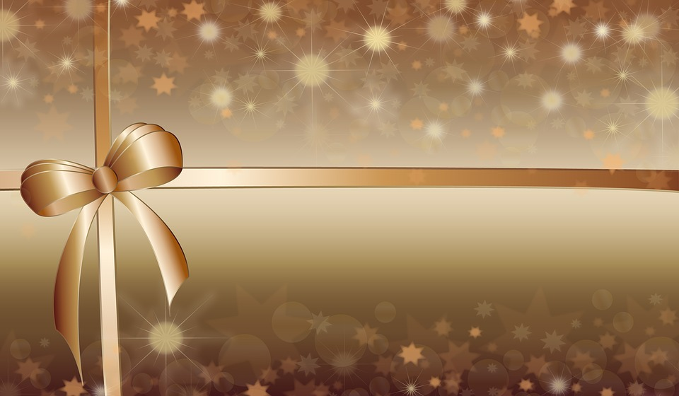 Free Illustration Background Bow Christmas Free Image