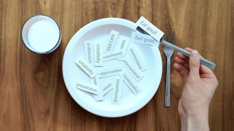 Placa, Los Alimentos, Idea, Comer, Éxito, Almuerzo