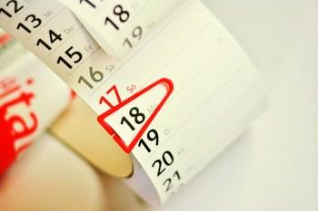 カレンダー, 日付, 計画, リストへの保存します, メモ, 番号, ストリップカレンダー, 紙, ビジネス
