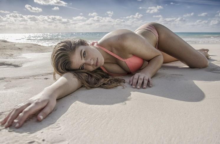 Beach, Sand, Sea, Water, Ocean, Sexy, Seashore, Woman
