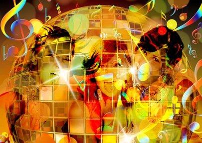 Silhouette, Ragazza, Danza, Partito