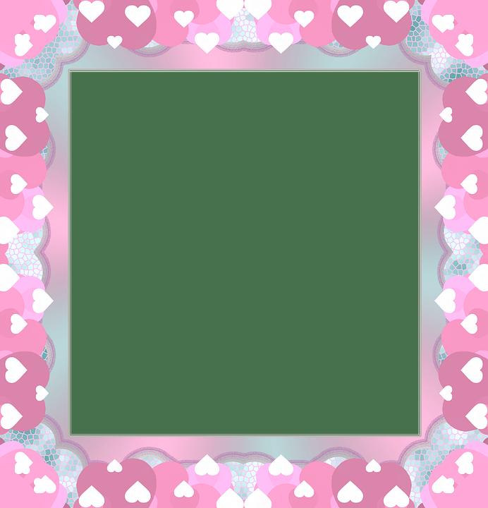 Free Illustration Frame Valentine Scrapbook Love