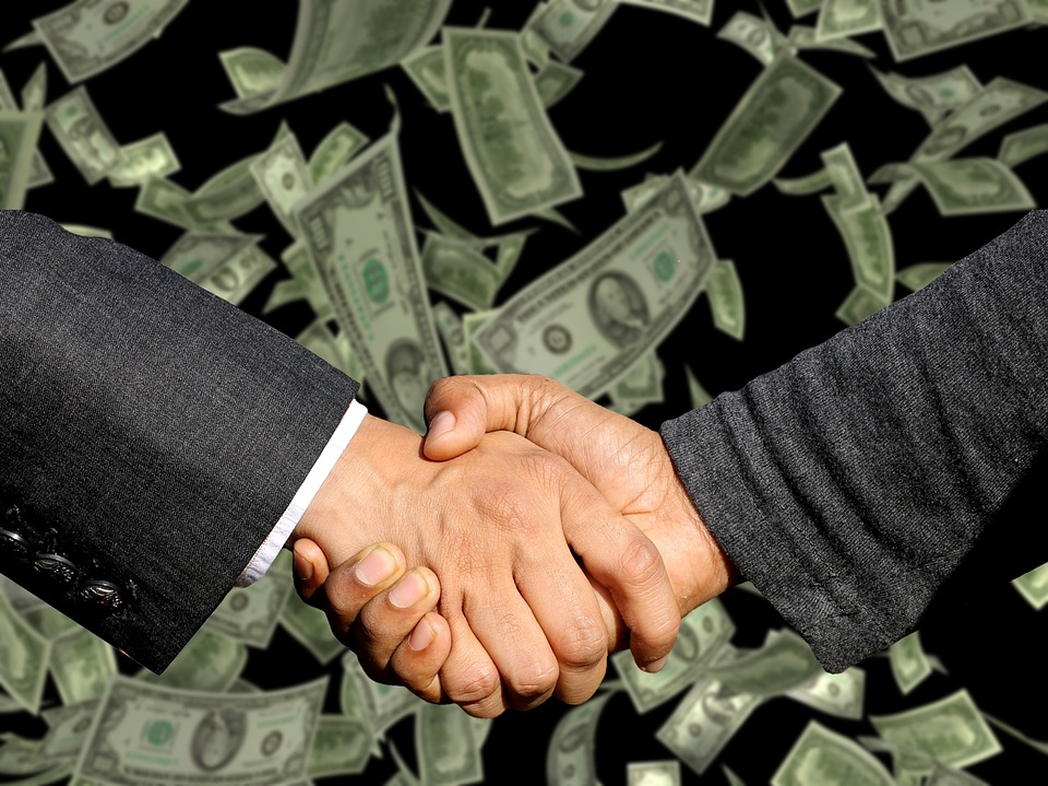 Handshake, Agreement, Trade, Business, Profit, Sale