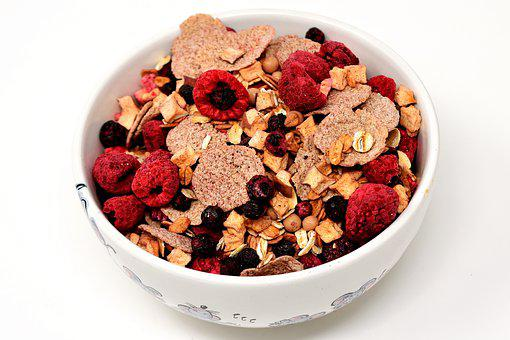 Muesli, Bowl, Healthy, Food, Eat, Müesli
