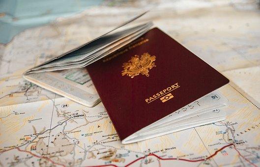 Passeport, Voyage, Douane, Frontières