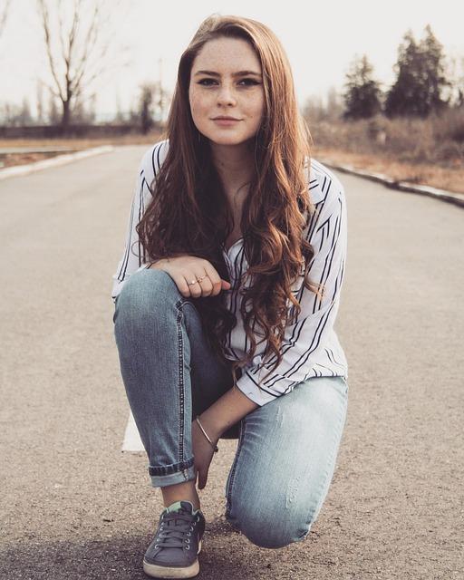 Girl Road Long Free Photo On Pixabay