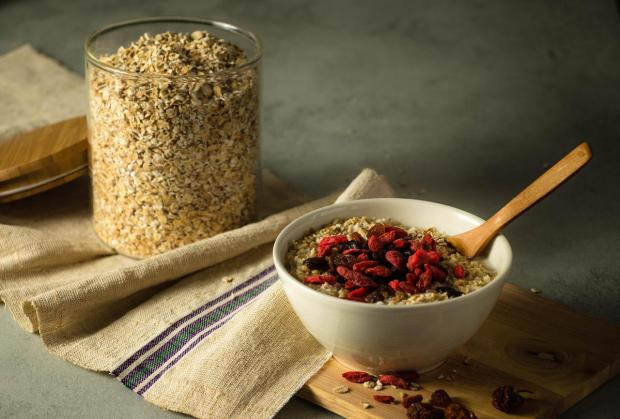 Oats improves your health and makes you feel better and happy.