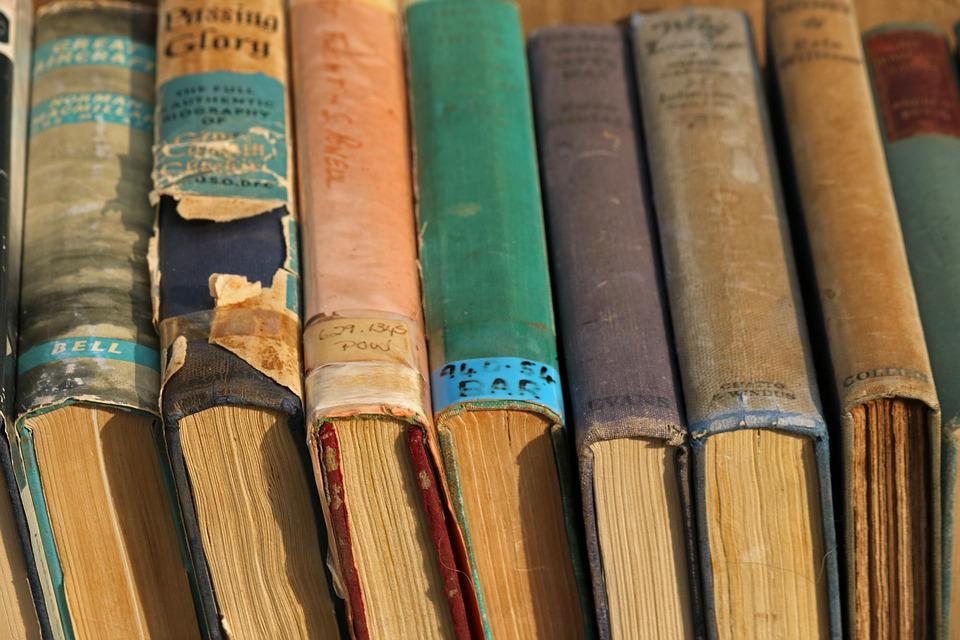 Collection Of Old Books Sale      Free photo on Pixabay collection of old books books sale collection old
