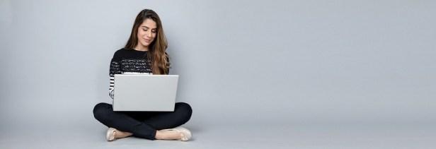 Woman, Laptop, Business, Blogging, Blogger, Female