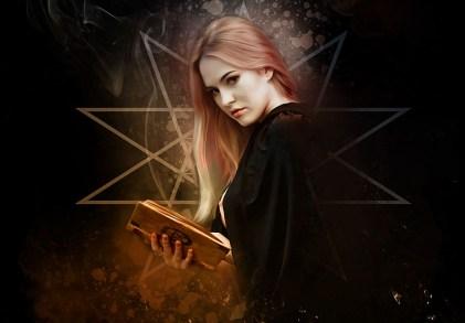 魔女, ゴシック, ゴス, 暗い, 肖像画, 女性, 若いです, 美しさ, モデル, 暗闇の中, 謎