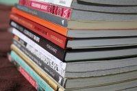 Färbung Bücher, Buchstapel, Färbung