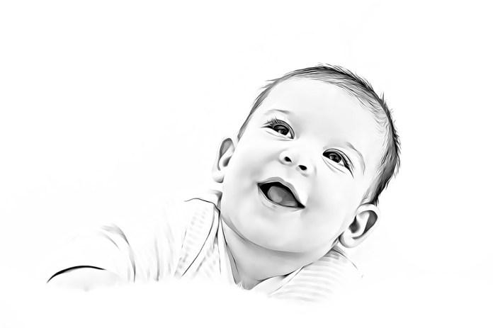 Aranyos, Gyermek, Portré, Baba, Kisbaba, Bébi, Öröm