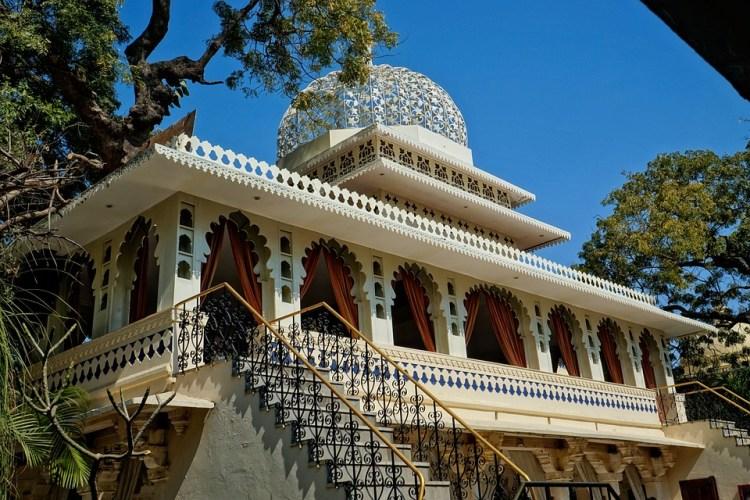 Udaipur, Palais De La Ville, L'Inde, L'Architecture