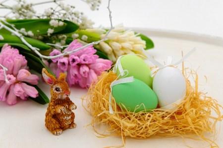 Oeufs De Pâques, Oeuf, Nid, Nid De Pâques, Pâques
