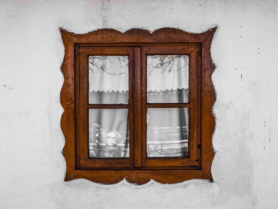 fenetre bois mur maison l architecture