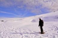 Solitudine, Escursione, Ciaspole, Neve, Inverno, Freddo