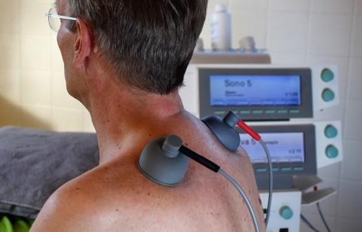 Medico, Adulto, Paziente, Umano, Elettroterapia, Physio
