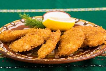 Los Alimentos, Restaurante, Pollo Frito, Placa