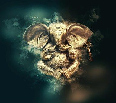 Ganesha, Ganesh, God, Pay, Religion