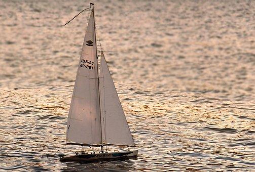 帆走船, セーリング ヨット, 帆船, 船, モデリング, リモート制御