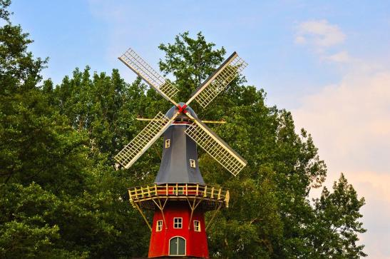 Dutch Windmill, Windmill, Mill, Holland, Traditional