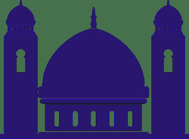 Masjid Kartun Vektor Nusagates