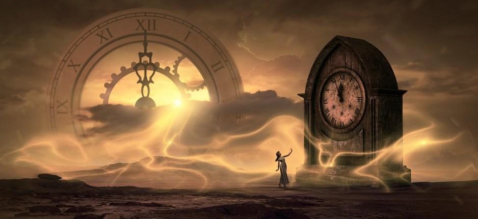Fantezie, Ceas, Timp, Lumina, Magic, Vis, Ireal, Fată
