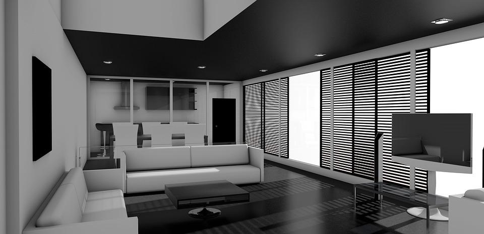 family room black inspiration