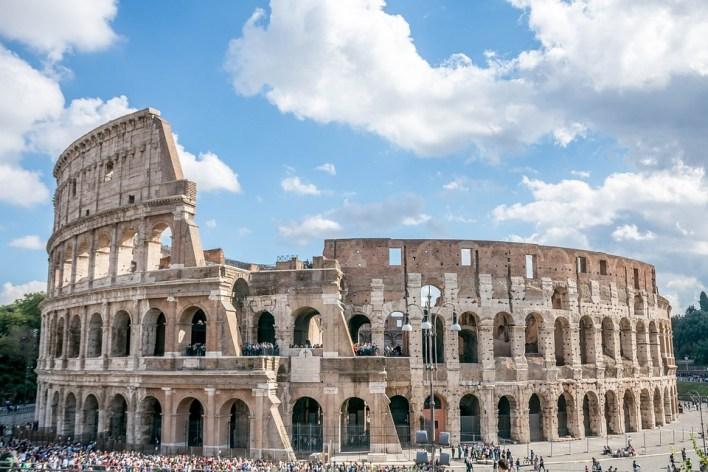 Roma, Itália Coliseu, Antiguidade, Metrópole, Idade