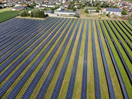 Solaranlage, Sonne, Erneuerbare Energien