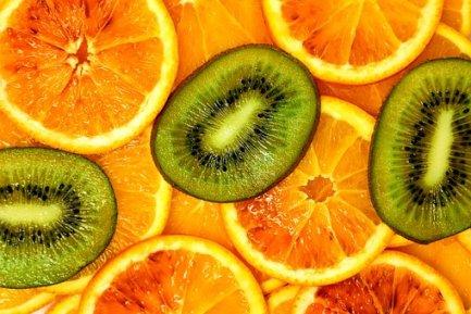 Kiwi, Oranges, Blood Oranges, Fruit, Eat