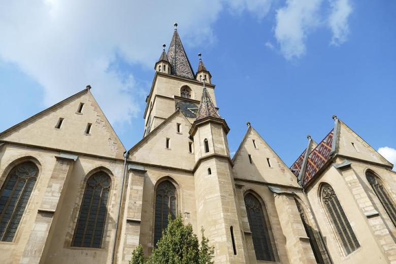 Sibiu, România, Transilvania, Hermannstadt, Arhitectura
