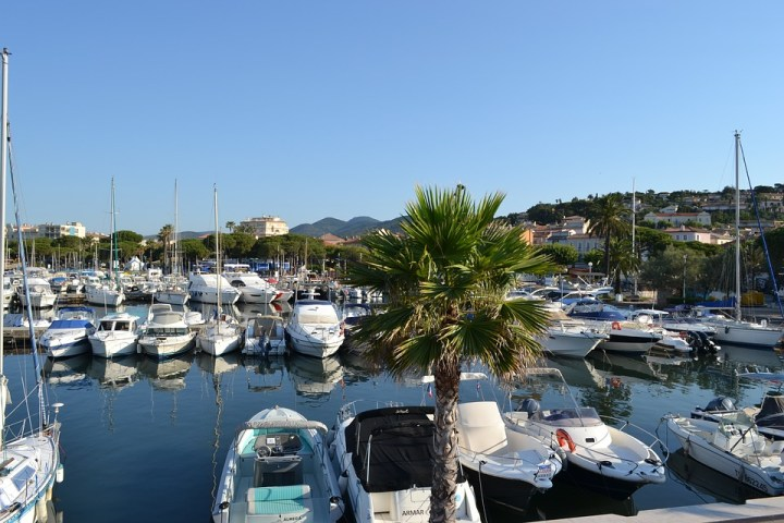 Sainte Maxime, French Riviera, Côte D'Azur, Marina