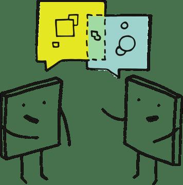 ピクセル, ピクセルの細胞, 教育学, ディスカッション, 談話, 通信, 対話, トーク, 交渉