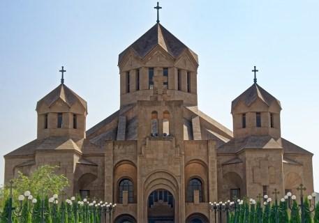 Arménie, Erevan, Cathédrale Hl, Grégoire De Erleuchters