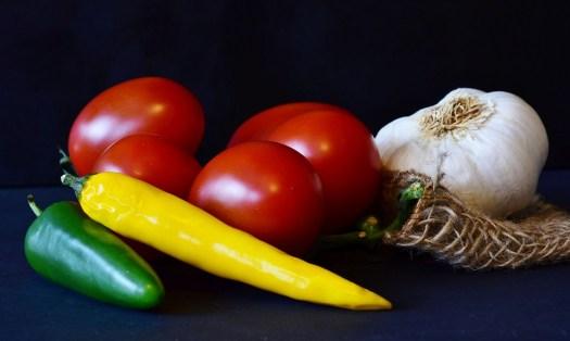 Pomodori, Pepperoni, Aglio, Alimentari, Cucina, Verdure