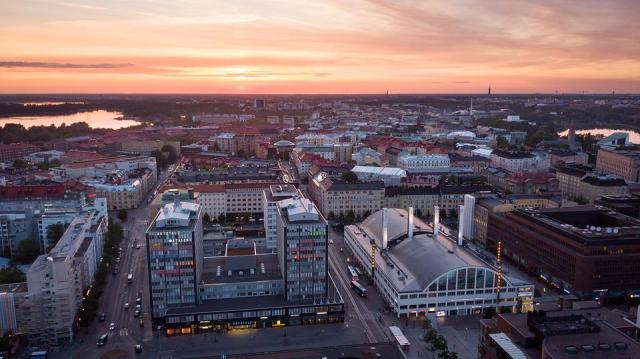 Helsinki, Finlandés, Kamppi, Uusimaa, Ciudad
