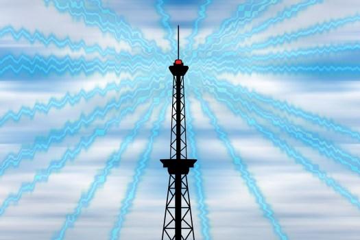 Raggi, Radio, Onde Radio, Onda, Torre Della Radio