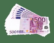 Geld, Euro, Rechnungen, 500, Bargeld + Kredit Info Online.