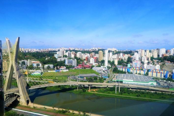 Cidade, Ponte, A Ponte De Suspensão, Rio, Arquitetura