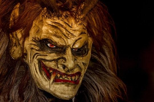 Krampus, Mask, Customs, Austria, Advent, Devil, Angry