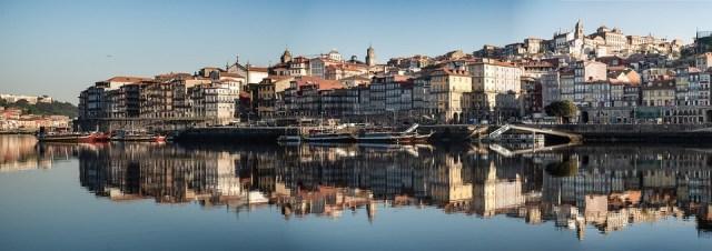 Portugal, Porto, Panorama, Horizonte, Passeio Marítimo