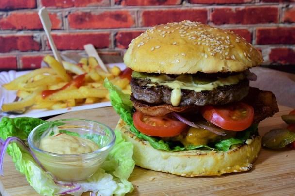 Burger, Hamburger, Bbq, Cheeseburger, Roll, Meat